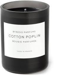 Byredo <b>ароматическая свеча</b> '<b>Cotton Poplin</b>' - Купить в Интернет ...