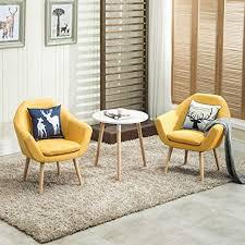 Magshion 2 Pcs Elegant Upholstered Fabric Club ... - Amazon.com