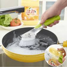 <b>Automatic Liquid</b> Washing Dish Brushes <b>Kitchen Gadgets</b> Cleaning ...