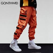 GONTHWID Men's Side Pockets Cargo <b>Harem Pants</b> 2019 <b>Hip Hop</b> ...