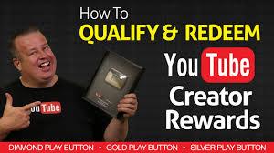 <b>How to</b> Redeem YouTube Creator Rewards - Silver <b>Gold</b> & Diamond ...