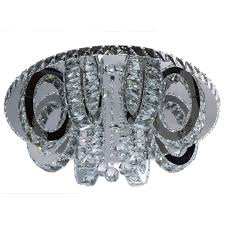 Moderne runde LED Deckenleuchte Kristall | Серебро, <b>Люстра</b> и ...