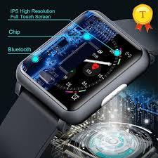 <b>New</b> Luxury ECG+<b>PPG Smart Watch</b> For Men Women Wristband ...