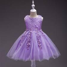 <b>Girls</b> Lace Flower <b>Girl Dress</b> for <b>Summer</b> (Purple,White,<b>Pink</b>,Blue ...