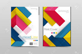 geometric brochure front page business annual report cover vector geometric brochure front page business annual report cover vector template a4 size poster stock