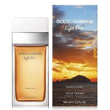 Dolce And Gabbana <b>Light Blue Sunset In</b> Salina 100 ml EDT Spray ...