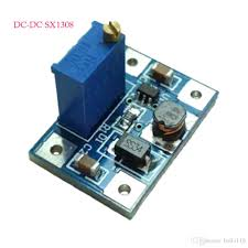<b>5PCS DC</b>-<b>DC SX1308 2A</b> Converter Step-up Power Module Booster ...