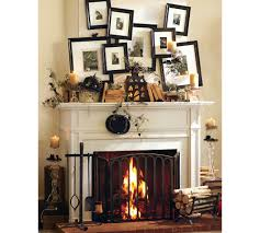halloween gallery wall decor hallowen walljpg wall pictures  decorative photo wall design for awesome halloween decorating ideas on white textured fireplace in modern house interior a unique messy arrangement decorative photo wall design inspiration