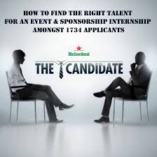 a case study of heineken on hiring the right person for the right job