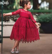 Best Offers for <b>red girl</b> kid dress ideas and get free shipping - a316