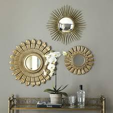 Ο καθρέφτης στην διακόσμηση, Gold sunburst mirrors