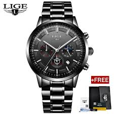 <b>Lige Watches</b> - <b>Men's Lige</b> Wrist <b>Watch</b> In Bangladesh - Daraz.com.bd
