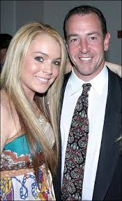 Lindsay and Michael Lohan
