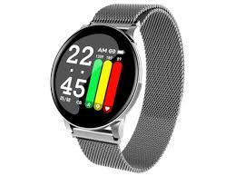 Купить <b>Умные часы Smarterra SmartLife</b> UNO серебристые по ...