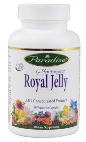 Paradise Herbs <b>Golden Emperor Royal Jelly</b> -- 60 Vegetarian ...