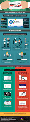 business card must haves for effective networking infographic business card must haves