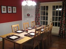 Red Dining Room Sets Dining Room Picture Molding Faq Diningroomchairrailjpg Dining Room