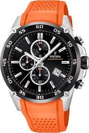 <b>Мужские</b> наручные <b>часы Festina F20330</b>/<b>4</b> кварцевые