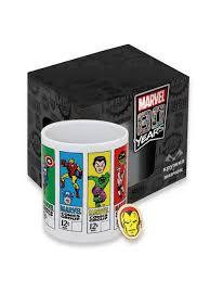 Подарочный <b>набор</b> Comics <b>Iron</b>-Man <b>кружка</b>+значок <b>Marvel</b> ...