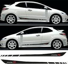 Honda Fn2 Civic Type R Door Sill Graphics X2 ausreisser.mur.at