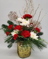 <b>Golden Snowflake</b> Bouquet in South Bend IN - Wygant Floral Co., Inc.