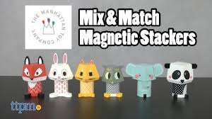 Mix & Match Magnetic Stackers Owl/<b>Elephant</b>/<b>Panda</b> & <b>Fox</b>/Rabbit ...