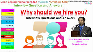 orion engineered carbons s a ornoda overheid ict top most orion engineered carbons s a ornoda overheid ict top most interview questions and answers