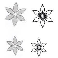 Online Shop <b>Naifumodo Flower</b> Stamp and Die <b>Metal</b> Cutting Dies ...
