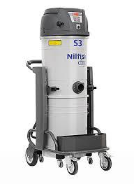 Трехмоторный промышленный <b>пылесос Nilfisk</b> S3