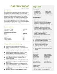 it support cv sample  helpdesk  writing a good cv  resume    entry level it support resume template