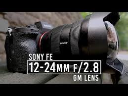 <b>Sony</b> Announces <b>FE 12</b>-<b>24mm</b> f/2.8 GM Lens; More Info at B&H