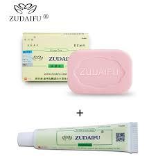 1PC zudaifu <b>Sulfur Soap add 1PC</b> zudaifu Psoriasis Cream ₱247