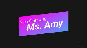 Teen Craft with Ms. Amy- <b>Gothic Cat</b> Necklace