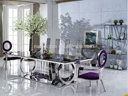 latest dining tables: latest model a black lacquer glass dining table