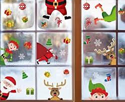 Christmas Window Clings - Amazon.ca
