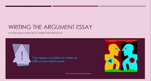AP English Language Exam Prep Argument Essay   GPAtube