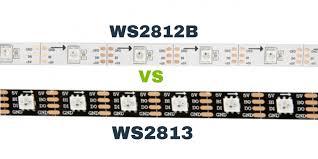 <b>WS2812B</b> vs WS2813 Addressable <b>RGB LED Strips</b> – How are they ...