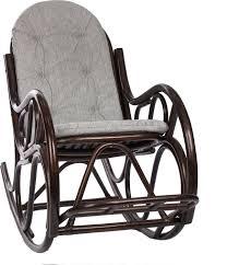 <b>Кресло</b>-<b>качалка Classic</b>, с подушкой, орех — купить в интернет ...