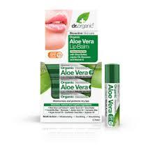 Dr. <b>Organic бальзам для губ</b> Алоэ вера, 5,7 мл купить по цене 131 ...