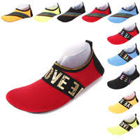 unisex water shoes flat soft