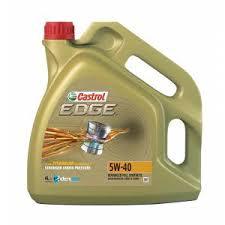 Купить <b>Моторное масло</b> Castrol EDGE <b>5W-40</b> синтетическое, 4 л ...