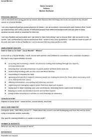 social worker sample resume  socialsci cojob resumesocial work cv examples social work resume skills samples sample social worker resume   social worker sample
