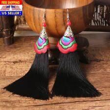 <b>Tassel</b> Black <b>Fashion</b> Earrings for sale | eBay