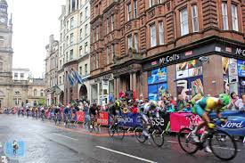 my glasgow commonwealth games in photos the little backpacker the men s road race around the city