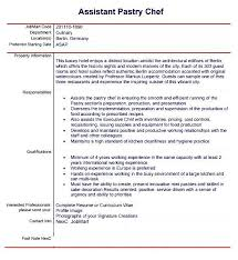 pastry chef resume template pastry chef resume objective chef resume objective