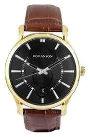 Наручные <b>часы ROMANSON TL0392MG</b>(<b>BK</b>) — купить по ...