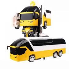 <b>Радиоуправляемый</b> робот-<b>трансформер</b> автобус <b>Meizhi</b> MZ-2372P