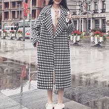 Женское зимнее шерстяное <b>пальто</b> с лацканами, <b>Тренч</b> ...