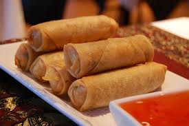 Image result for spring rolls