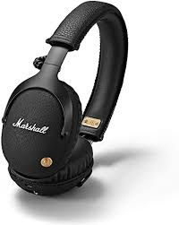 <b>Marshall Monitor Bluetooth</b> Headphones - Black: Amazon.co.uk ...